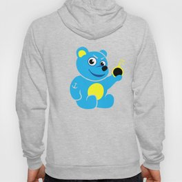 Evil Tattooed Teddy Bear Hoody