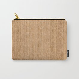 Red Oak Wood Carry-All Pouch