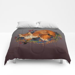 Sly Fox Spirit Animal Comforters