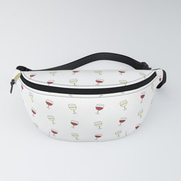 Red Wine, White Wine Fanny Pack
