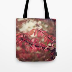 Crimson Blush Tote Bag