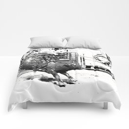 Rodeo Bull Riding Champ Comforters