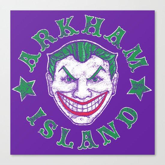 Arkham Island Canvas Print