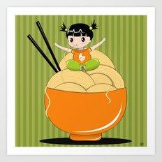 noodle..noodle.. noodle!!! Art Print