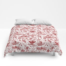 "Zelda ""Hero of Time"" Toile Pattern - Goron's Ruby Comforters"
