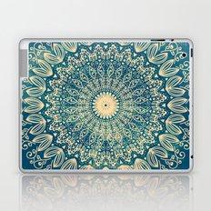 BLUE ORGANIC MANDALA Laptop & iPad Skin