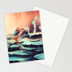 AQUARIUS from the Dancing Zodiac Stationery Cards