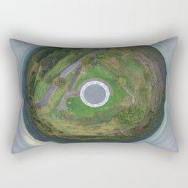 Stardisc tiny planet Rectangular Pillow