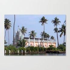 Kerala Church Canvas Print