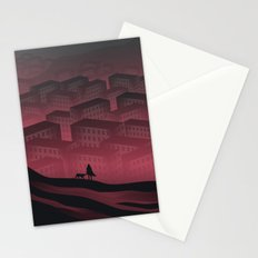 Sleeping Town Stationery Cards