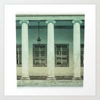 italy Art Prints featuring Italy by Ivan Kolev