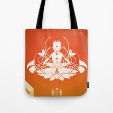 Opening the higher state of consciousness Tote Bag