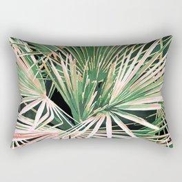 Palms #nature #painting Rectangular Pillow