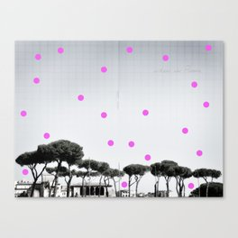 When in Rome Canvas Print
