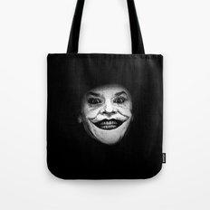 Jack Nicholson as The Joker - Pencil Sketch Style Tote Bag