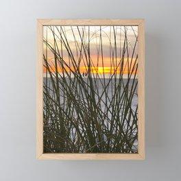 A Walk on the Beach Framed Mini Art Print