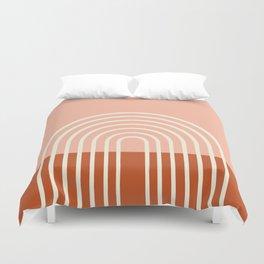 Terracota Pastel Duvet Cover