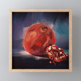Pomegranate Framed Mini Art Print