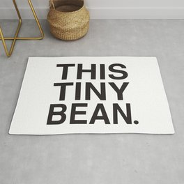 This Tiny Bean Logo Rug