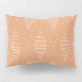 Diamonds in Rust Pillow Sham