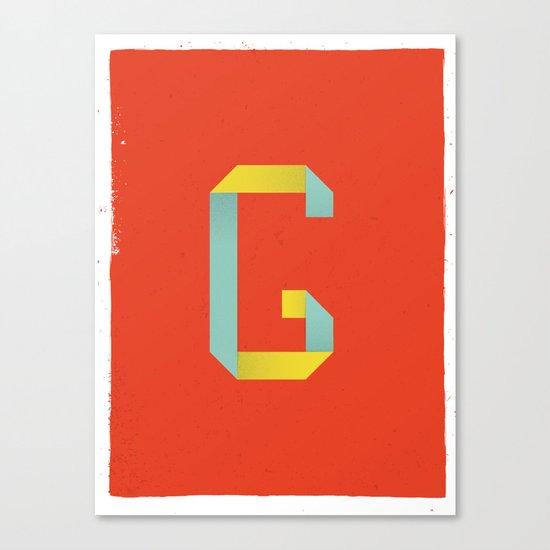 G 001 Canvas Print