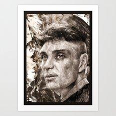 Cillian Murphy / Tommy Shelby / Peaky Blinders Art Print