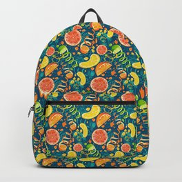 Juicy Citrus Pop Art Backpack