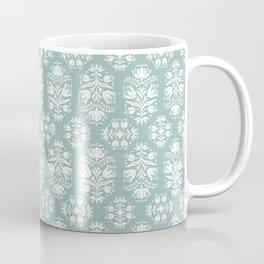 Vintage Floral Damask Coffee Mug