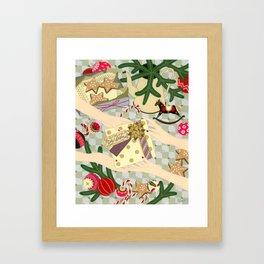 Merry Christmas gift Framed Art Print