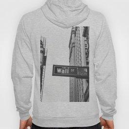 Wall street bw Hoody