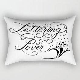 Lettering Lover Rectangular Pillow