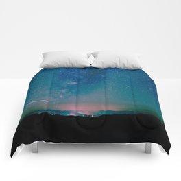 Desert Summer Milky Way Comforters