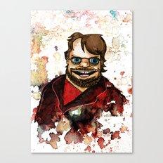 Guillermo del Toro Canvas Print