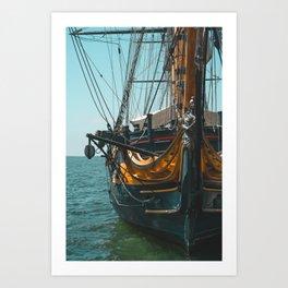 Maritime Museum of San Diego Art Print