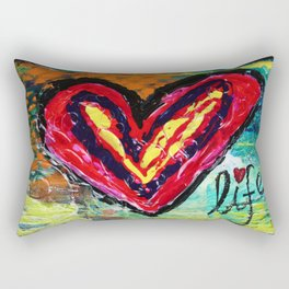 Love Life Rectangular Pillow