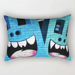 Toothy Smile Rectangular Pillow