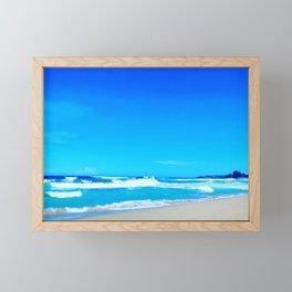 Carribean Coast Framed Mini Art Print