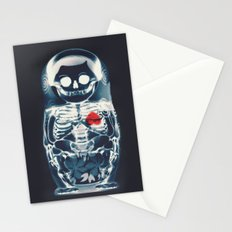 Nesting Doll X-Ray Stationery Cards