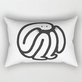 babble Rectangular Pillow