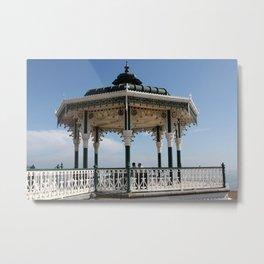 Brighton Bandstand, England Metal Print