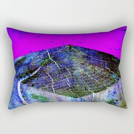 Flat Earth Apocalypse Rectangular Pillow