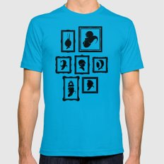 Stage Select Mens Fitted Tee Teal LARGE