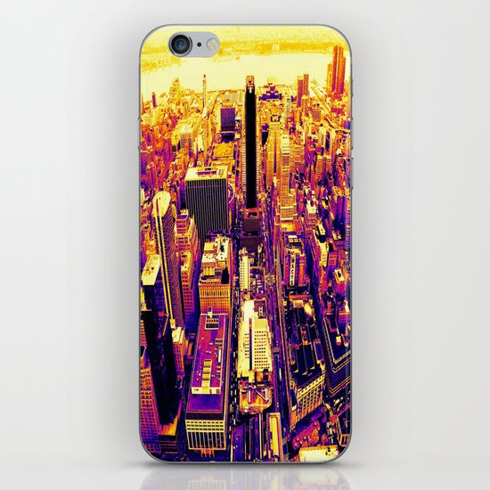 Color The City iPhone & iPod Skin