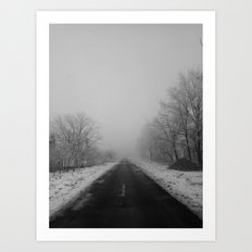 | Never-ending No. 38 - or endless fog and gray | Art Print