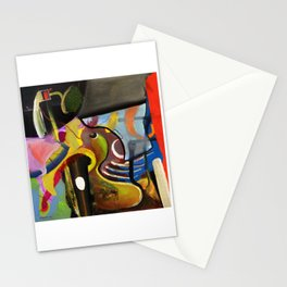 Circus Juice (oil on canvas) Stationery Cards
