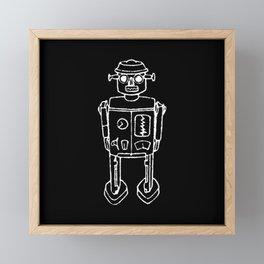 RO BOT Framed Mini Art Print