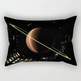 Tiny Planet Appartments Series. Rectangular Pillow