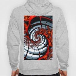 Fractal Art - Burning Web Hoody