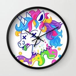 Deadicorn Wall Clock