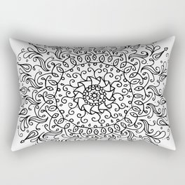 Spring mandala Rectangular Pillow